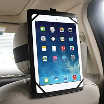 Fintie Universal-Auto-Kopfstütze Halterung für 7-Zoll bis 11-Zoll-Tablet PC Inklusive. Apple iPad Air 2, iPad Air, iPad 1 2 3 4 5 6, iPad Mini 1/2/3, Google Nexus 9, Nexus 7, Samsung Galaxy Tab 2, Galaxy Tab 3, Galaxy Tab 4, Galaxy Note, Galaxy Tab Pro, LG G Pad, Dell Venue, Asus Memo Pad, Asus Transformer Book, Microsoft Surface Pro, Surface RT, Lenovo IdeaTab, Sony Xperia Tablet Z and More -