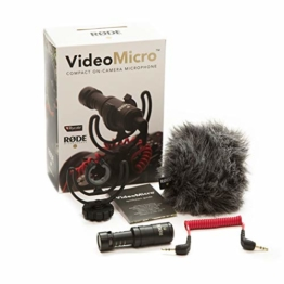 Rode VideoMicro kompakt On Camera Microphone - sortierte Farben - 1