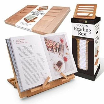 WOODEN READING REST - 3